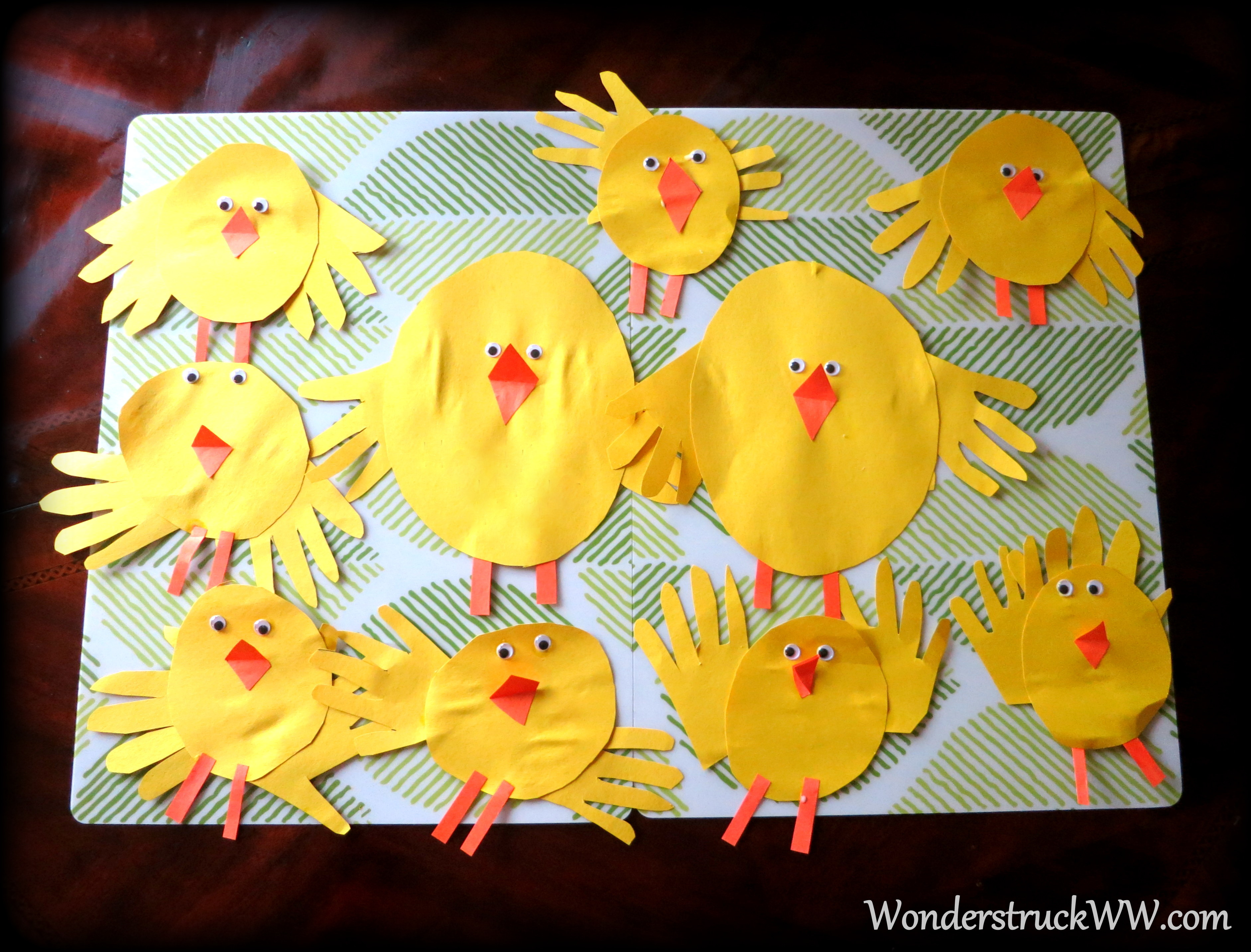 Construction Paper Chicks