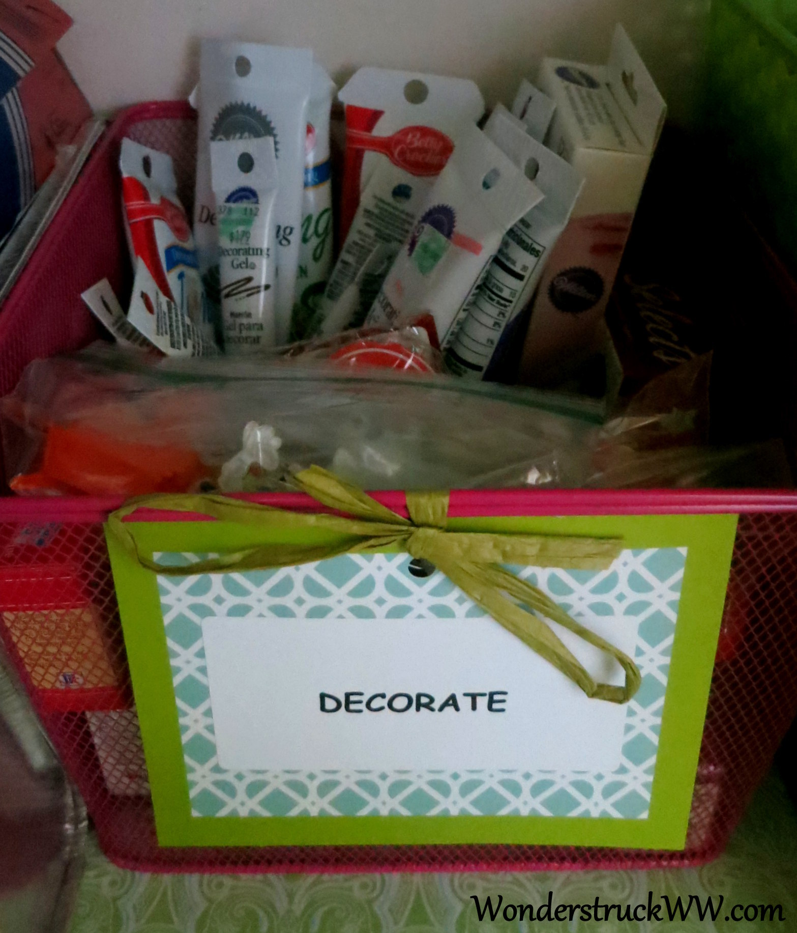 Cake Decorating Bags Target : Pantry Makeover