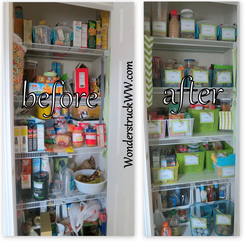 Pantry Makeover: Before and After