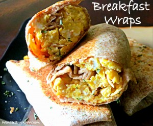 Quick and Easy Breakfast Wraps