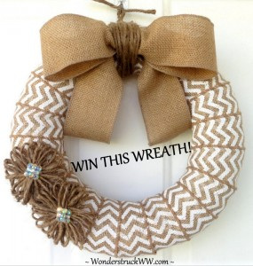 Wonderstruck's Fall 2013 WREATH GIVEAWAY