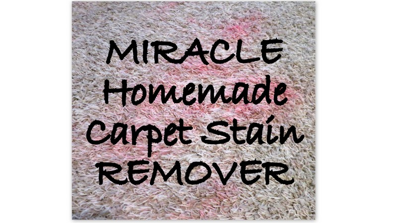 Miracle Carpet Stain Remover