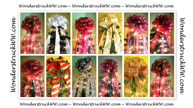 Wonderstruck's Christmas Tree Bow Topper Giveaway