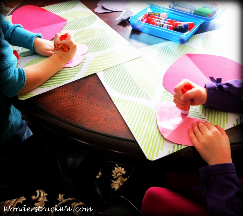 Crafting With Kids (Valenine's Day)