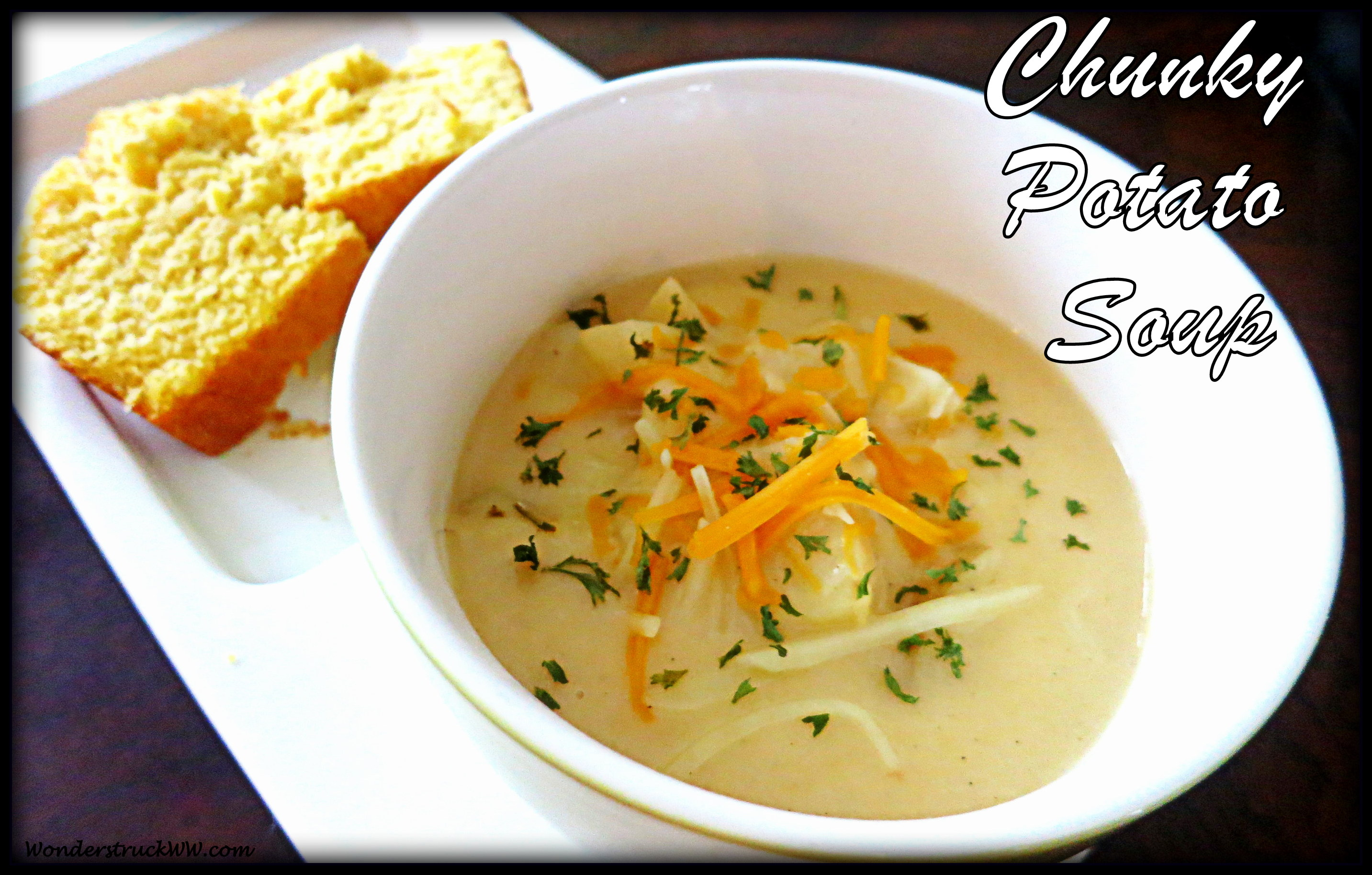 Chunky Cheesy Potato Soup