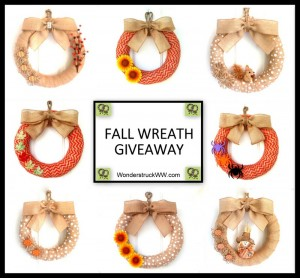 Fall Burlap Wreath Giveaway – Winner Chooses Their Favorite Wreath