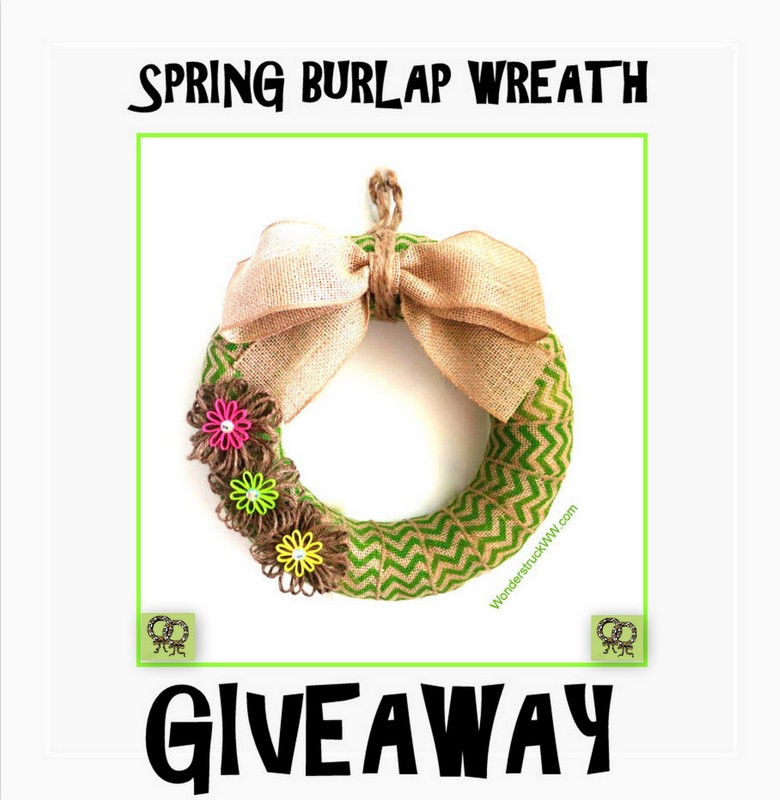 Spring Wreath Giveaway